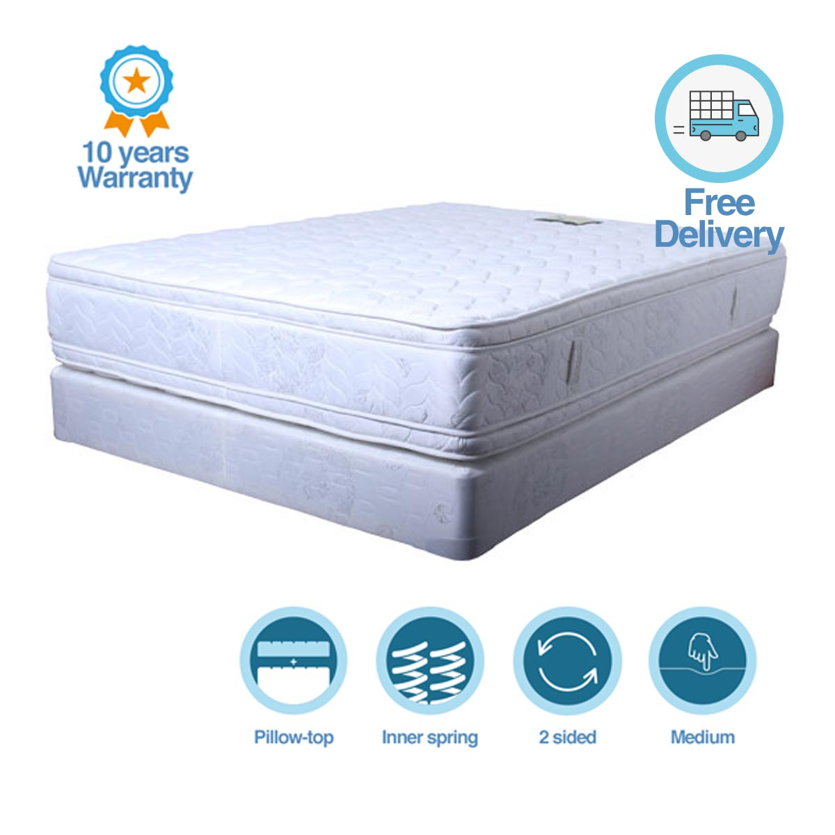 sided wilson mattress product double best buys plush